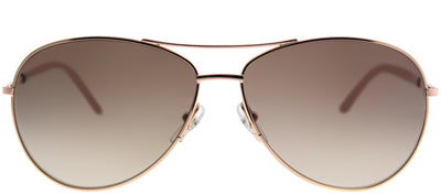 Marc Jacobs Marc 59 WM4 JD Aviator Metal Gold Sunglasses with Brown Gradient Lens