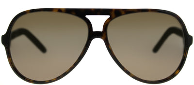Marc Jacobs Marc 70 086 Aviator Plastic Tortoise/ Havana Sunglasses with Brown Mirror Lens