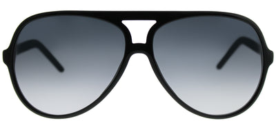 Marc Jacobs Marc 70 807 Aviator Plastic Black Sunglasses with Grey Gradient Lens