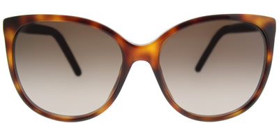 Marc Jacobs Marc 79 05L Cat-eye Plastic Tortoise/ Havana Sunglasses with Brown Gradient Lens