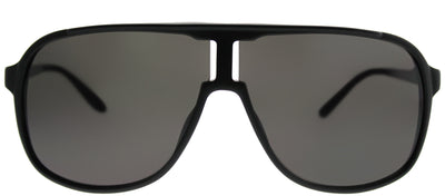 Carrera CA NewSafari GTN Aviator Plastic Black Sunglasses with Grey Lens