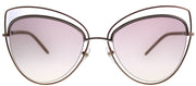 Marc Jacobs Marc 8 TXA Cat-eye Metal Gold Sunglasses with Pink Lens