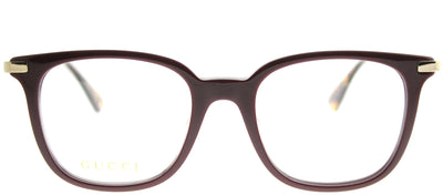 Gucci GG 0110O 006 Square Plastic Burgundy/ Red Eyeglasses with Demo Lens