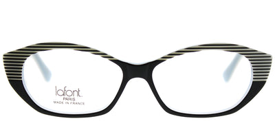 Lafont LF Tarentelle 1024 Cat-Eye Plastic Black Eyeglasses with Demo Lens