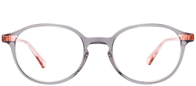 Etnia Barcelona ET Anvers GYPK Round Plastic Grey Eyeglasses with Demo Lens