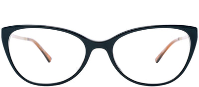Etnia Barcelona ET Batonrouge BLBR Cat-Eye Plastic Blue Eyeglasses with Demo Lens