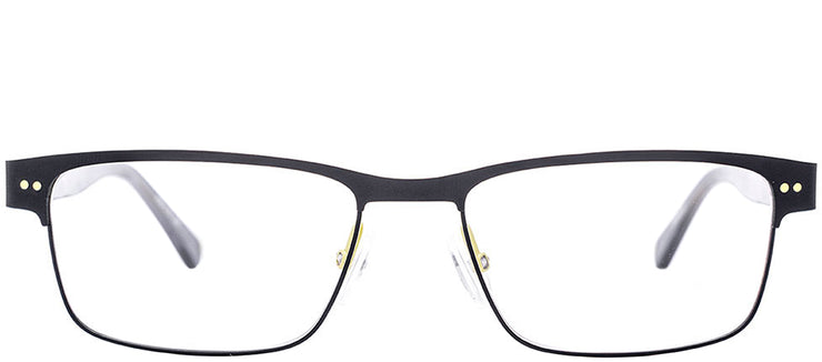 Etnia Barcelona ET Brandon BKYW Rectangle Metal Black Eyeglasses with Demo Lens
