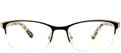 Etnia Barcelona ET Calais BKGD Rectangle Metal Black Eyeglasses with Demo Lens