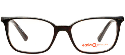 Etnia Barcelona ET Derby HVCH Rectangle Plastic Tortoise/ Havana Eyeglasses with Demo Lens
