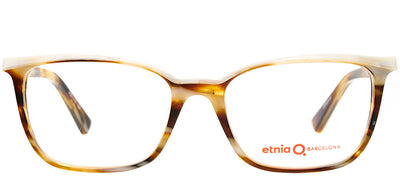 Etnia Barcelona ET Derby HVWH Rectangle Plastic Tortoise/ Havana Eyeglasses with Demo Lens
