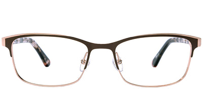 Etnia Barcelona ET Dunkerque BRPK Rectangle Metal Pink Eyeglasses with Demo Lens