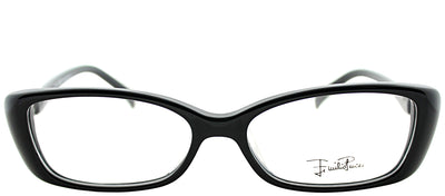 Emilio Pucci EP 2683 001 Rectangle Plastic Black Eyeglasses with Demo Lens