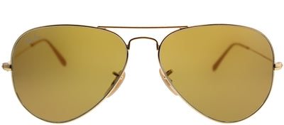 Ray-Ban RB 3025 90644I Aviator Metal Gold Sunglasses with Brown Photochromatic Evolve Lens
