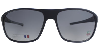 TAG Heuer TAG 6041 109 Rectangle Plastic Black Sunglasses with Grey Gradient Lens