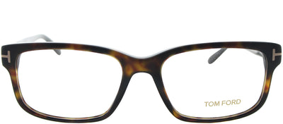 Tom Ford FT 5313 052 Rectangle Plastic Brown Eyeglasses with Demo Lens