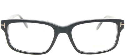 Tom Ford FT 5313 002 Rectangle Plastic Black Eyeglasses with Demo Lens