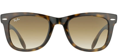 Ray-Ban RB 4105 710/51 Wayfarer Plastic Tortoise/ Havana Sunglasses with Crystal Brown Gradient Lens
