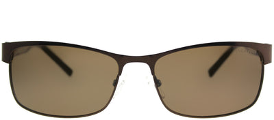 Chesterfield CH Beagle/S EP8P VW Rectangle Metal Brown Sunglasses with Brown Polarized Lens