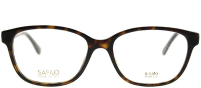 Emozioni EM 4046 581 Rectangle Plastic Tortoise/ Havana Eyeglasses with Demo Lens