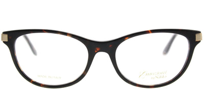 Emozioni EM 4047 2IK Cat-Eye Plastic Tortoise/ Havana Eyeglasses with Demo Lens
