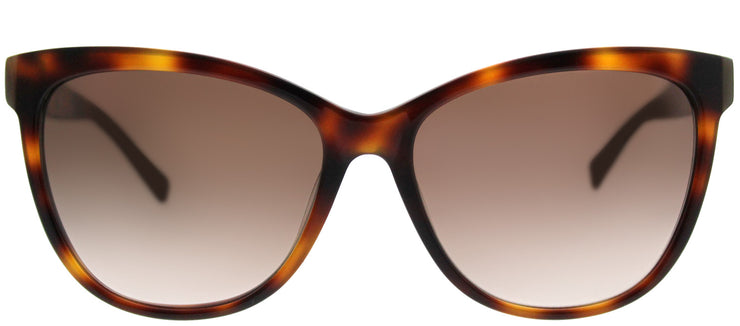 MaxMara MM Thin 05L JD Cat-Eye Plastic Tortoise/ Havana Sunglasses with Brown Gradient Lens