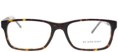 Burberry BE 2162 3002 Rectangle Plastic Brown Eyeglasses with Demo Lens
