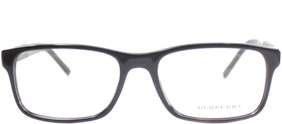 Burberry BE 2162 3001 Rectangle Plastic Black Eyeglasses with Demo Lens