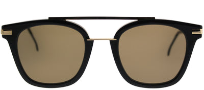 Fendi FF 0224 PJP Rectangle Plastic Blue Sunglasses with Brown Lens