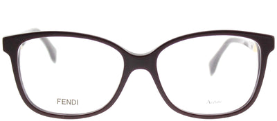 Fendi FF 0232 S85 Rectangle Plastic Burgundy/ Red Eyeglasses with Demo Lens