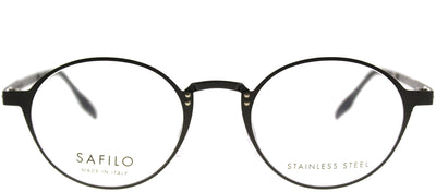Safilo SA Canalino02 VZH Round Metal Bronze Eyeglasses with Demo Lens