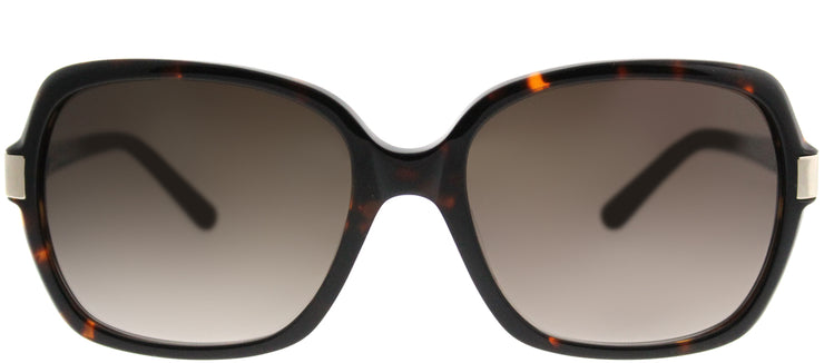 Saks Fifth Avenue SAKS 82/S 086 Y6 Square Plastic Tortoise/ Havana Sunglasses with Brown Gradient Lens
