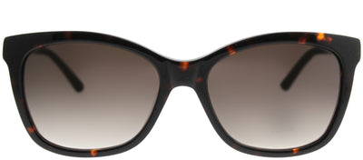 Saks Fifth Avenue SAKS 83/S 086 Y6 Rectangle Plastic Tortoise/ Havana Sunglasses with Brown Gradient Lens