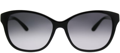Saks Fifth Avenue SAKS 89/S 807 F8 Rectangle Plastic Black Sunglasses with Grey Gradient Lens