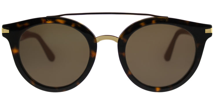Tommy Hilfiger TH 1517/S 086 70 Round Plastic Brown Sunglasses with Brown Lens