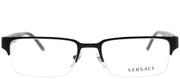 Versace VE 1184 1261 Rectangle Metal Black Eyeglasses with Demo Lens