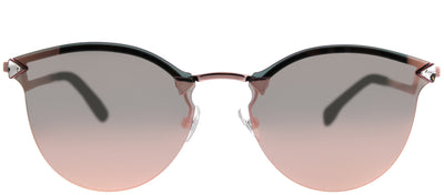 Fendi FF 0040 35J 0J Fashion Metal Pink Sunglasses with Rose Gold Mirror Lens