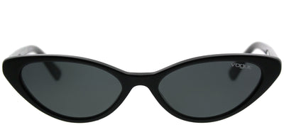 Vogue Eyewear VO 5237S W44/87 Cat-Eye Plastic Black Sunglasses with Grey Lens