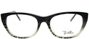 Emilio Pucci EP 2670 037 Cat-Eye Plastic Grey Eyeglasses with Demo Lens