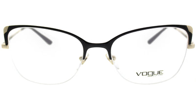 Vogue VO 4077 352 Cat-Eye Metal Black Eyeglasses with Demo Lens