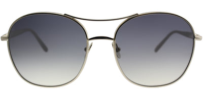 Chloe CE 137S 766 Square Metal Gold Sunglasses with Blue Gradient Lens
