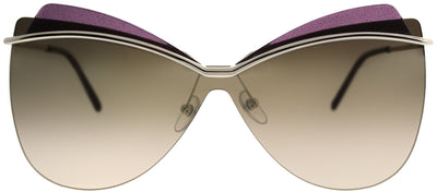 Marc Jacobs MARC 103 3YG ZV Cat-Eye Metal Gold Sunglasses with Gold Mirror Lens