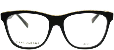 Marc Jacobs MARC 164 807 Rectangle Plastic Black Eyeglasses with Demo lens