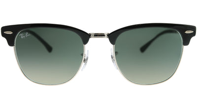 Ray-Ban RB 3716 900471 Clubmaster Metal Black Sunglasses with Grey Gradient Lens