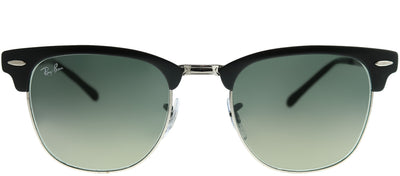 Ray-Ban RB 3716 911871 Clubmaster Metal Black Sunglasses with Grey Gradient Lens