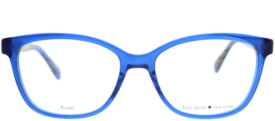 Kate Spade KS Emilyn PJP Square Plastic Blue Eyeglasses with Demo Lens
