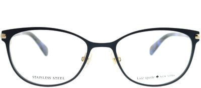 Kate Spade KS Jabria PJP Cat-Eye Metal Blue Eyeglasses with Demo Lens