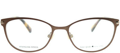 Kate Spade KS Jabria WR9 Cat-Eye Metal Brown Eyeglasses with Demo Lens