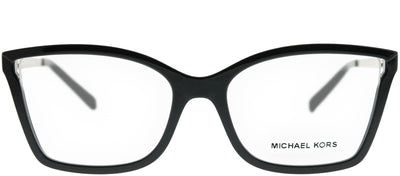 Michael Kors MK 4058 3332 Rectangle Plastic Black Eyeglasses with Demo Lens