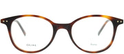 Celine CL 41407 05L Square Plastic Tortoise/ Havana Eyeglasses with Demo Lens