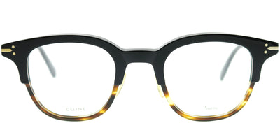 Celine CL 41422 T6P Square Plastic Black Eyeglasses with Demo Lens